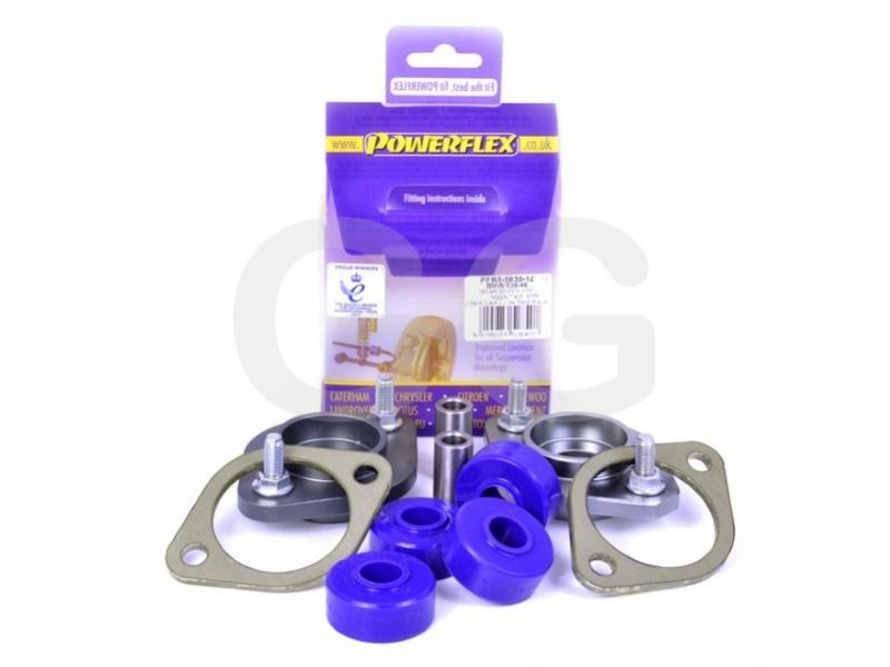 Powerflex Rear Shocker Top Mount Bracket & Bush 12mm BMW M3 E46 x2 Bushes Car Kit PFR5-5630-12